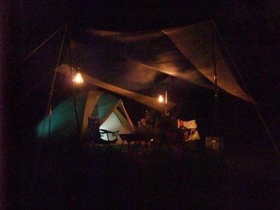 愛知県の渥美半島でキャンプしてきました。