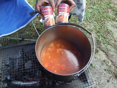 お手軽キャンプ料理