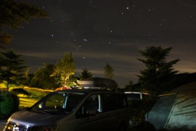 6月 うるぎ星の森 2012 気温と服装の話