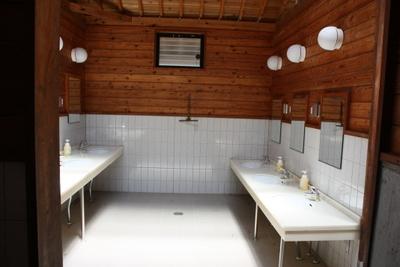 うるぎ星の森 トイレとシャワーの話