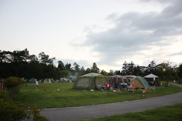 2012・8 うるぎ星の森 今年は夜寒い