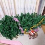 冬にランニングシャツ男はクリスマスツリーを壊す。